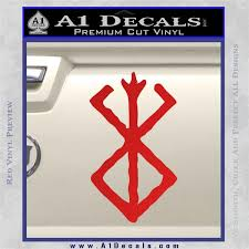 Berserk Brand Of Sacrifice Decal Sticker D1 Anime A1 Decals