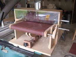 homemade thickness drum sander