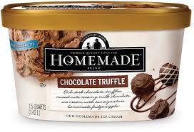 chocolate truffle homemade brand ice