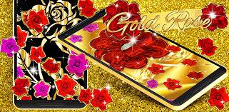 gold rose live wallpaper 15 1 apk