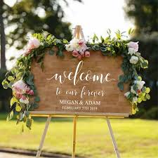 Set Type Yesoccasion Weddingoccasion Wedding Engagementis Customized Yesmodel Number Qt3 Wedding Welcome Signs Welcome To Our Wedding Wood Wedding Signs