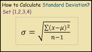 How to Calculate Standard Deviation by Hand - YouTube