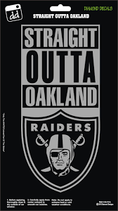 Straight Outta Oakland Raiders Movie Ice Cube Nwa Decal Vinyl Sticker Car Truck Laptop Suv Window Oakland Raiders Oakland Raiders Logo Raiders