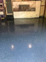 garage floor in andover minnesota