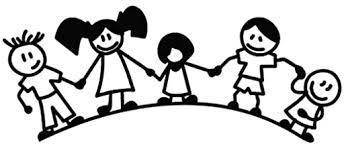 Amazon Com Kids Hold Hands Around World Cartoon Decal 15cm Black Vinyl Removable Decorative Sticker For Wall Car Ipad Macbook Laptop Bike Helmet Appliance Instrument Motorcycle Suitcase Kitchen Dining