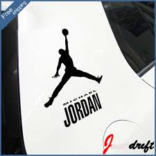 Michael Jordan 23 Basketball Waterproof Wall Sticker Home Doodle Car Sticker Motorcycle Mountain Bike Decal Car Accessories Car Camera With Night Vision Accessories Berettacar Trial Aliexpress