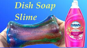 galaxy slime without baking soda borax