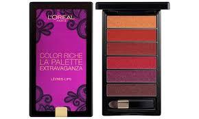 loreal color riche la palette