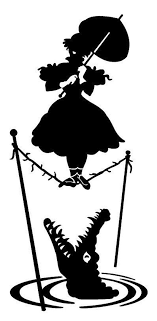 Haunted Mansion Vinyl Decal Car Decal Tightrope Parasol Etsy Disney Silhouettes Disney Silhouette Disney Haunted Mansion