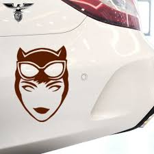 Cartoon Film Heroes Sexy Temptation Catwoman Car Sticker Suv Bumper Motorcycle Laptop Kayak Car Styling Vinyl Decal 10 Color Car Stickers Aliexpress