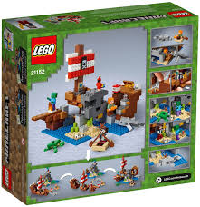 Đồ chơi lắp ráp LEGO Minecraft 21152 - Thuyền Hải Tặc Minecraft ...