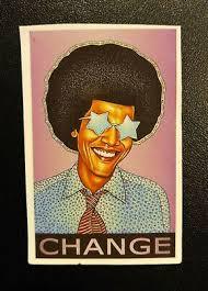 Hippie Barack Obama Change Skateboard Snowboard Bumper Sticker Decal Fashion Home Garden Homedcor In 2020 Bumper Stickers Wall Stickers Home Decor Anime Stickers