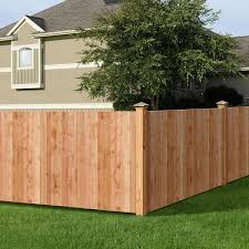 Outdoor Essentials 5 8 In X 3 1 2 In X 3 1 2 Ft Western Red Cedar Flat Top Fence Picket 27 Pack 239671 The Home Depot