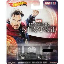 2019 Hot Wheels 1 64 Retro Entertainment Marvell Doctor Strange Lamborghini Huracan Coupe Diecast Model Car Walmart Com Walmart Com
