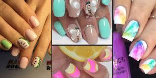 Paznokcie Gotowe Na Wakacje Pomysly Na Modny Manicure Na Lato