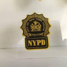 Ny Nyc City Of New York Police Detective 1 Inside Window Etsy
