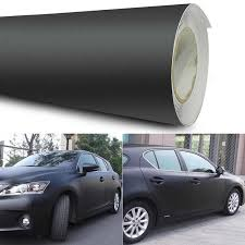 Car Truck Decals Stickers Metallic Black Matte Flat Vinyl Sticker Tape For Car Home Wrap Adhesive Decal Magazine Oceanomedicina Com