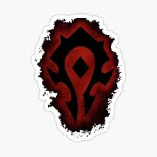 Wow 1 10 Re Vinyl Decal Window Sticker World Of Warcraft Horde Pvp
