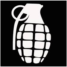 Car Truck Graphics Decals Auto Parts And Vehicles Grenade Us Flag Pineapple American Car Decal Sticker Vinyl Ontapbeer Tours