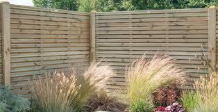 Garden Fencing Fencing Decking Landscaping Homebase