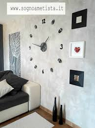 Large Wall Clock Modern Oversized Wall Decal For Office Wall Decor Living Room Feng Shui Wall Art Gift For Men Christmas Gift For Home In 2020 Wall Decor Living Room Large