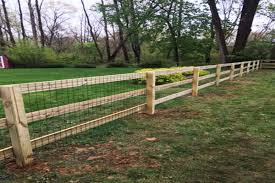 Welded Wire Fencing Wood Fence Design Wire And Wood Fence Welded Wire Fence