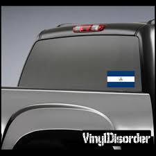 Nicaragua Flag Sticker 01 Vinyl Wall Decals Tajikistan Flag Vinyl Decals