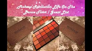 makeup revolution life on the dance