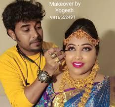 bridal cine makeup artist yogesh