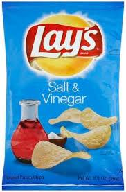 lays salt vinegar potato chips 9 5