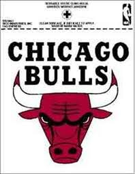 Chicago Bulls Window Decal Sticker Rico Tag Nba