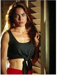Drop Zone (1994) 8 Inch x10 Inch Photo Yancy Butler Black Tied Up Top Bare  Tummy kn at Amazon's Entertainment Collectibles Store