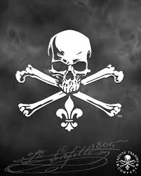 Decals Jean Lafitte Trading Company