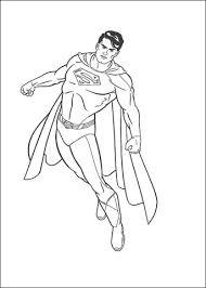 Superman Kleurplaat Gratis Kleurplaten Printen