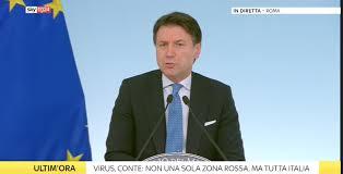 Coronavirus, la conferenza stampa del premier Conte - 9 marzo 2020 ...
