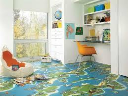 5 Fun Modern Vinyl Flooring Designs From Tarkett Vinyl Flooring Kids Flooring Floor Design