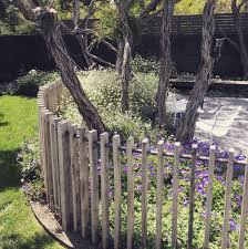 Formed Landscapes Rustic Coastal Fence Detail Rustic Landscaping Coastal Gardens Fence Landscaping