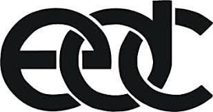 Amazon Com La Decal Edc Nice Silhouette Decal Sticker On Car Truck Suv Laptop Mac 8 Black Automotive