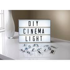 cinema light box decorative