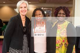 Denise Dunning with Ada Williams Prince and Maame Afon Yelbert-Sai