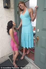 The height of fashion: Meet Amazon Eve, the world's tallest model ...