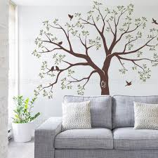 Organic Giant Family Tree Wall Decal Staircase Family Tree Etsy