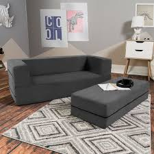 Goldie Big Kids Convertible Sleeper Sofa And Ottoman 270 Kids Sofa Toddler Sofa Sofa