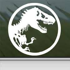 Jurassic Park Sticker Decal T Rex Dinosaur Tyrannosaur Car Window Wall Mymonkeysticker Com