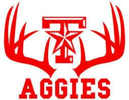Deer Hunting Antler Car Truck Window Decal Texas A M Aggies 11 5 X 14 Inches Ebay