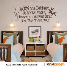 Wall Decals Nursery Hunting Fishing Ducks Baby Childrens Room To Go To Sleep Dogs And Cattails Nursery Wall Decals Boy Nursery Room Boy Baby Boy Room Decor