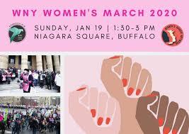 women s march 2020 buffalo wny