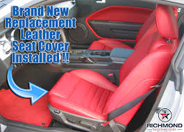 2005 2009 ford mustang v8 leather seat