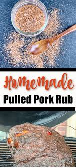 homemade pulled pork rub for barbecue