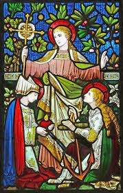 Faith, Hope and charity, West window, Blessed Virgin Mary,… | Flickr